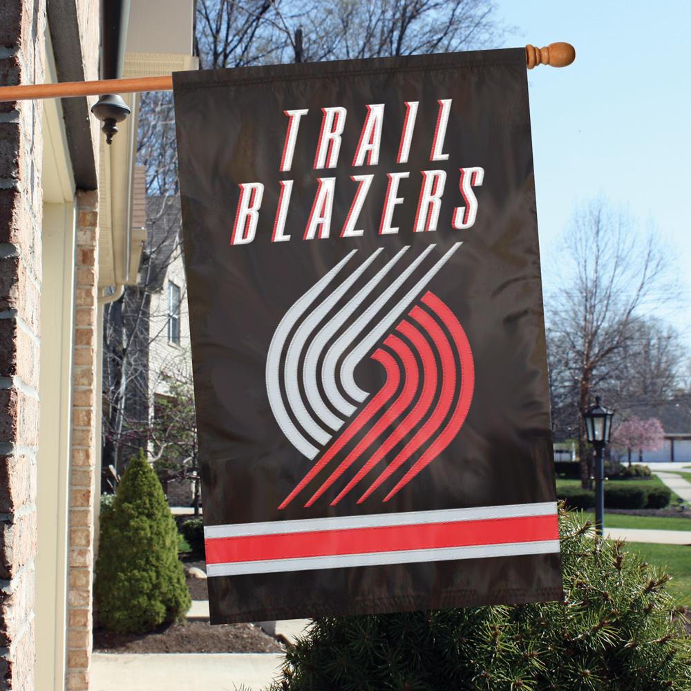 Blazers Trail: Portland Trail Blazers Premium Banner Flag