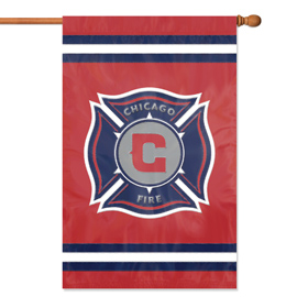 Chicago Fire Premium Banner Flag