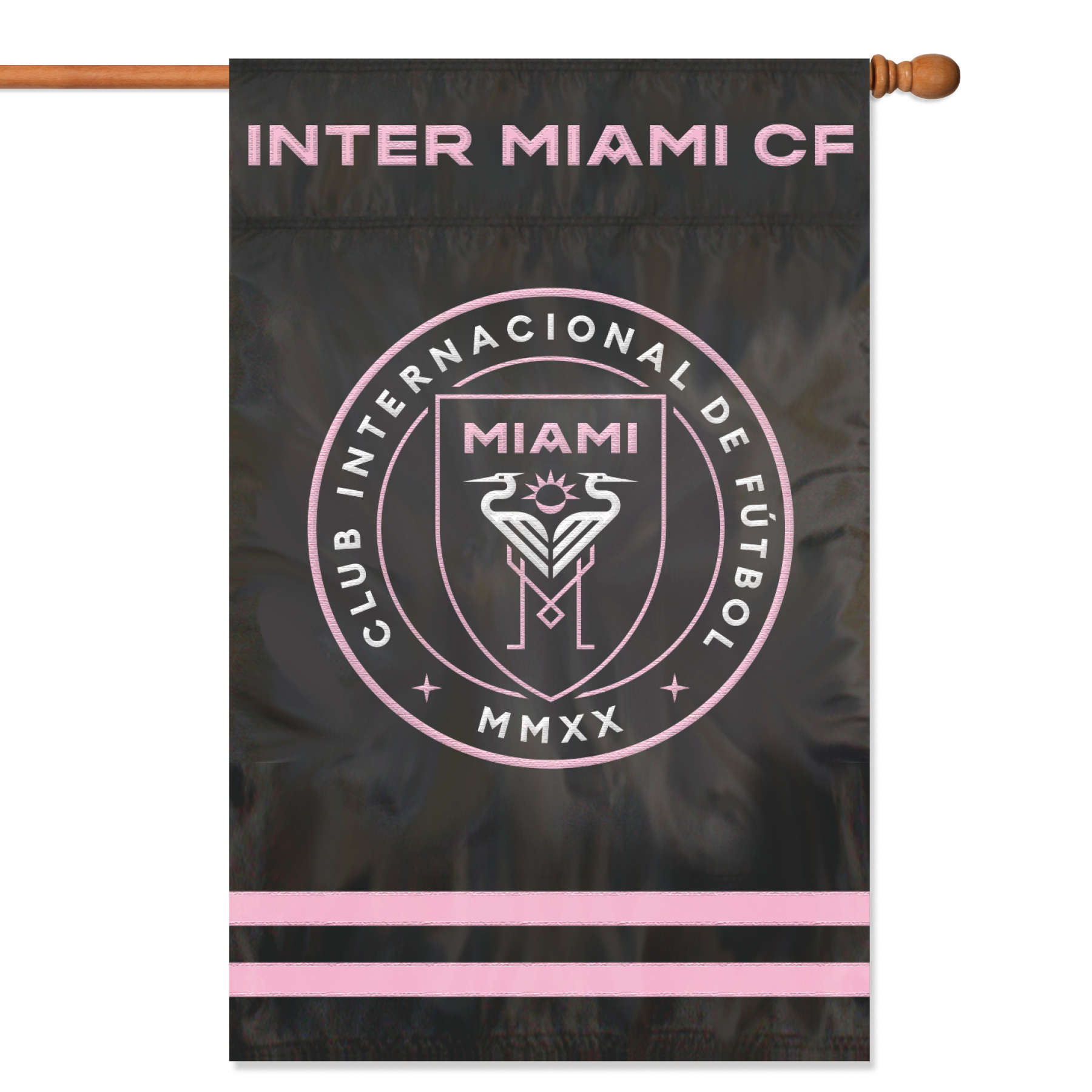 Inter Miami CF Applique Banner Flag