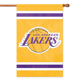 Los Angeles Lakers Premium Banner Flag