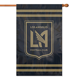 Los Angeles FC Applique Banner Flag