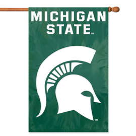Michigan State Spartans Premium Banner Flag