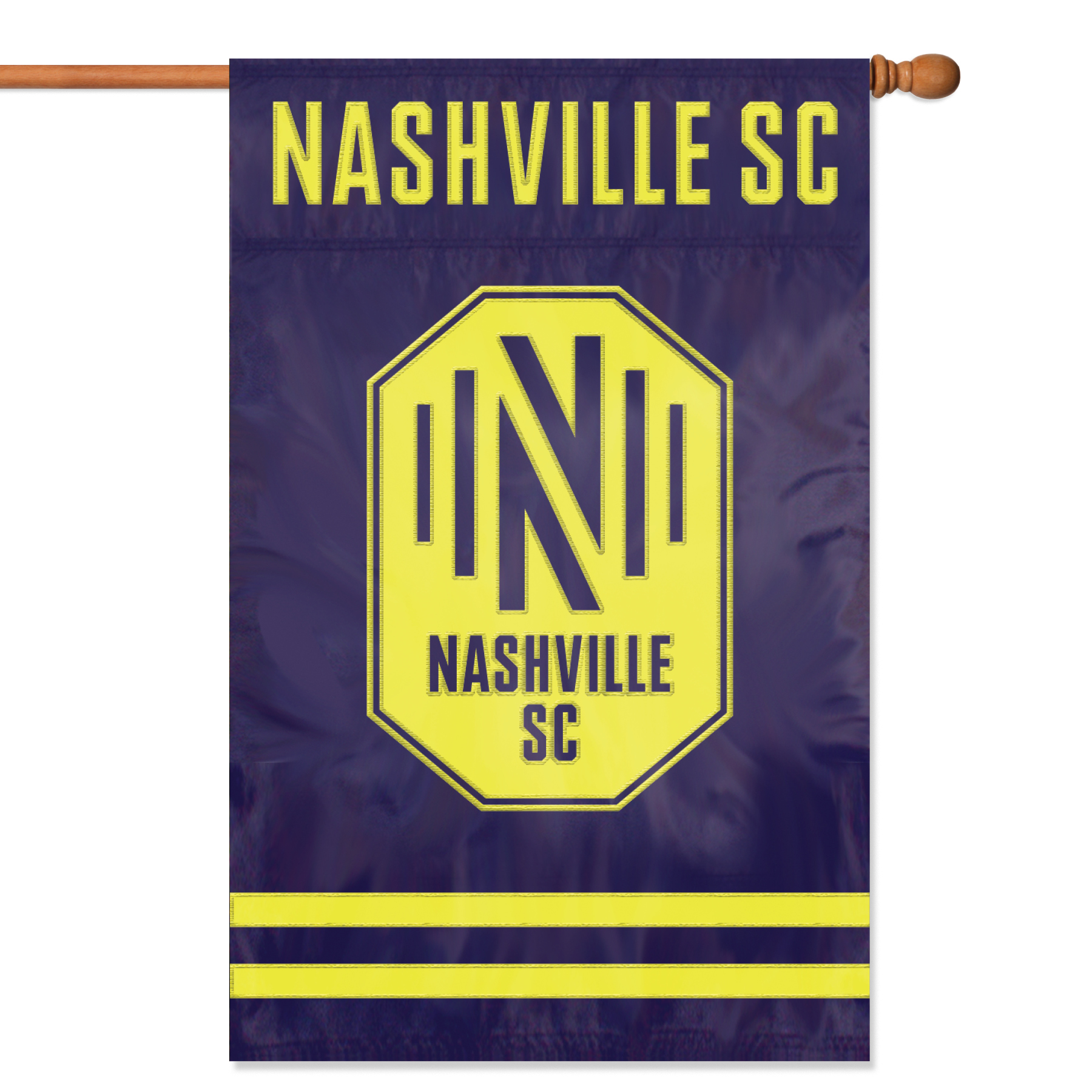 Nashville SC Applique Banner Flag