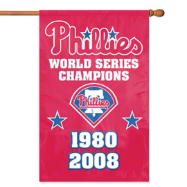 Philadelphia Phillies Champs Premium Banner Flag