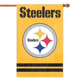 Pittsburgh Steelers Premium Banner Flag - Yellow
