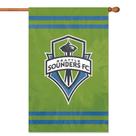 Seattle Sounders FC Premium Banner Flag