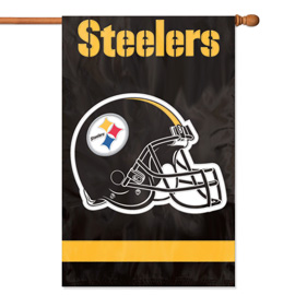 Pittsburgh Steelers Premium Banner Flag