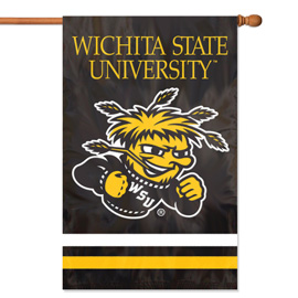 Wichita State Shockers Premium Banner Flag