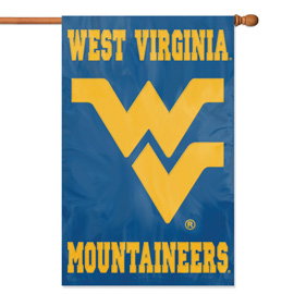 West Virginia Mountaineers Premium Banner Flag