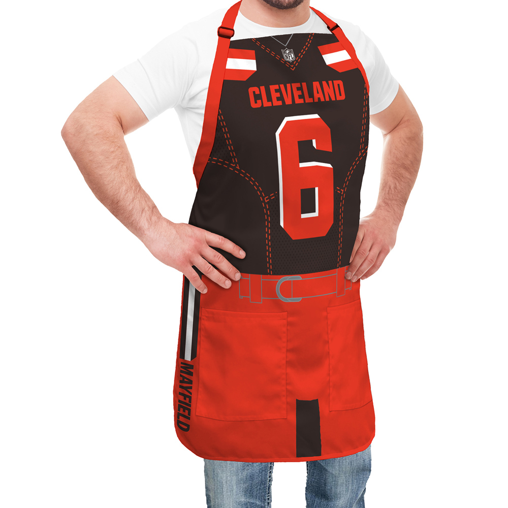 best website d4457 acb9d Cleveland Browns NFL Player Jersey Apron - Baker Mayfield