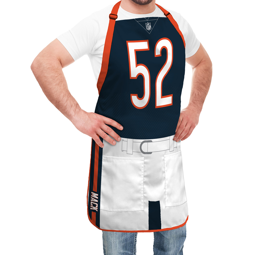 new concept 515e0 4b82e Chicago Bears NFL Player Jersey Apron - Khalil Mack