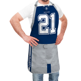 Dallas Cowboys NFL Player Jersey Apron - Ezekiel Elliott