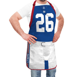 New York Giants NFL Player Jersey Apron - Saquon Barkley