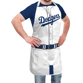 Los Angeles Dodgers Jersey Apron