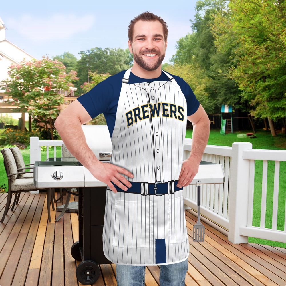 Milwaukee Brewers Jersey Apron