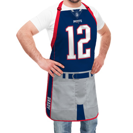New England Patriots NFL Player Jersey Apron - Tom Brady