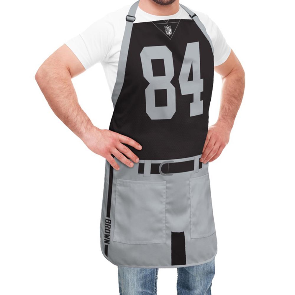 best service a2ca5 1c985 Oakland Raiders NFL Player Jersey Apron - Antonio Brown