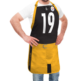 Pittsburgh Steelers NFL Player Jersey Apron - JuJu Smith-Schuster