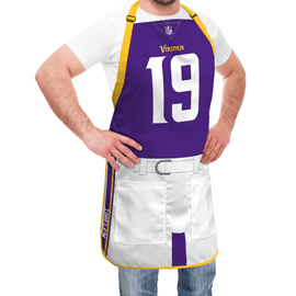 Minnesota Vikings NFL Player Jersey Apron - Adam Thielen