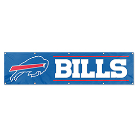 Buffalo Bills Giant 8' x 2' Banner