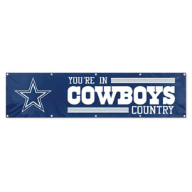 Dallas Cowboys Giant 8' x 2' Banner
