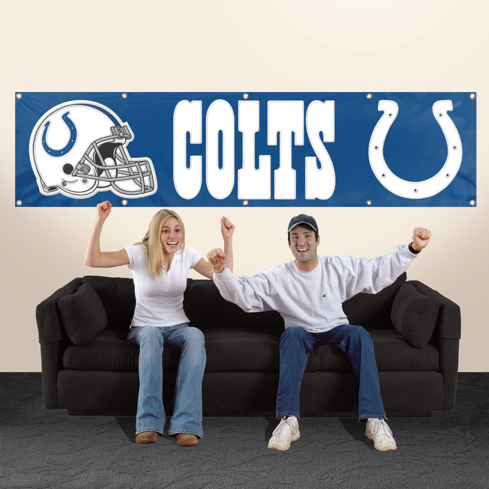 Indianapolis Colts Giant 8' x 2' Banner