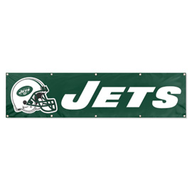 New York Jets Giant 8' x 2' Banner