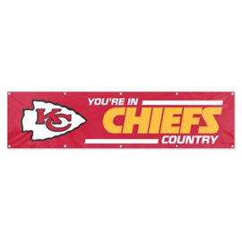 Kansas City Chiefs Giant 8' x 2' Banner
