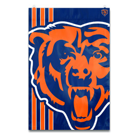 Chicago Bears Bold Logo Banner Flag
