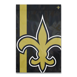 New Orleans Saints Bold Logo Banner Flag