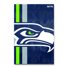 Seattle Seahawks Bold Logo Banner Flag