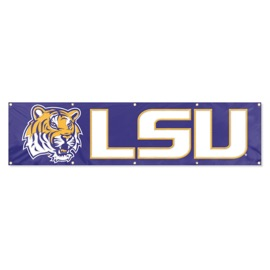 LSU Tigers Giant 8' x 2' Banner