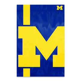 Michigan Bold Logo Banner Flag