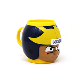 Michigan Wolverines Big Sip Mug