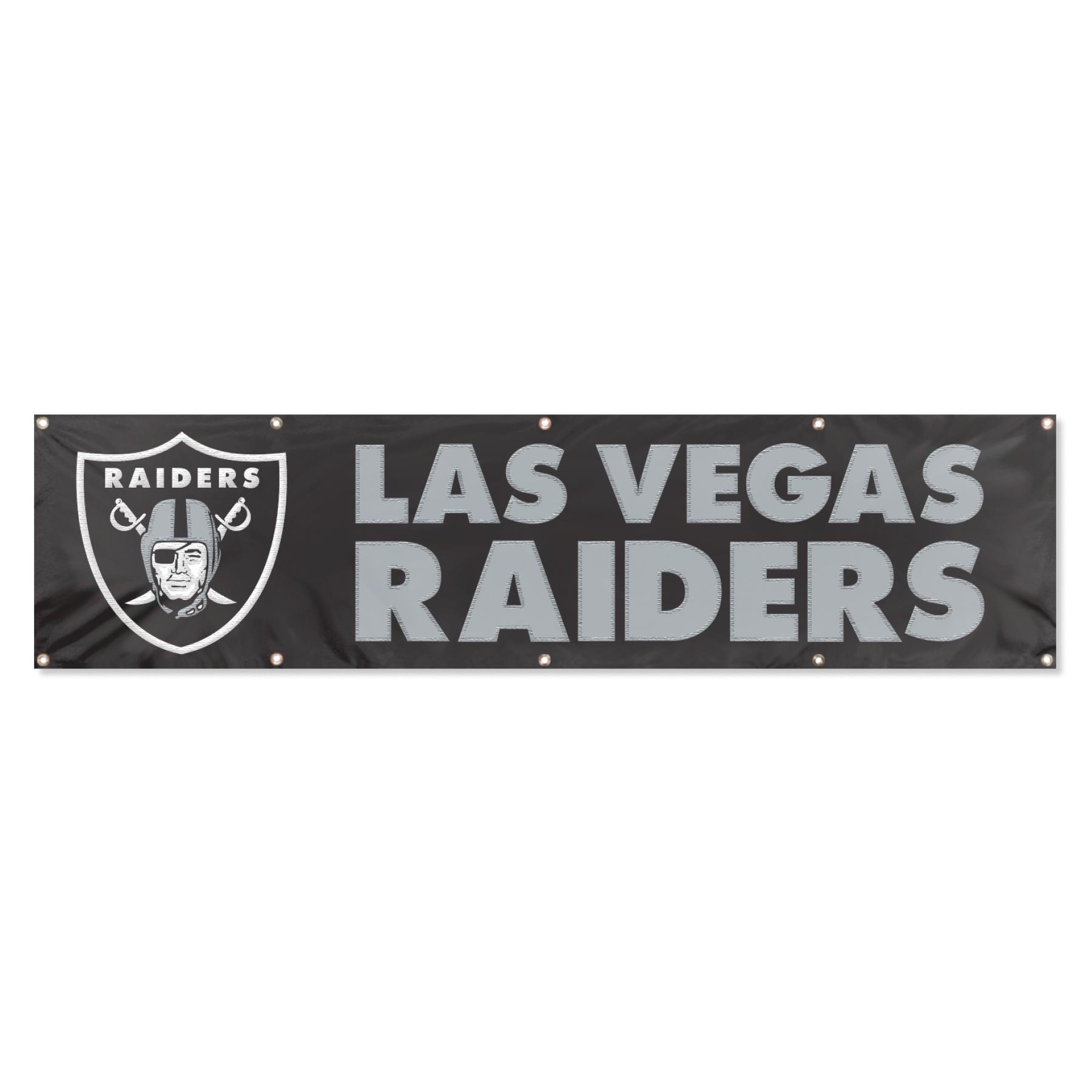 Las Vegas Raiders Giant 8 X 2 Banner