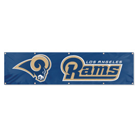 Los Angeles Rams Giant 8' x 2' Banner