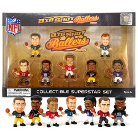 Big Shot Baller MiniFig NFL Series 1 Gift Set