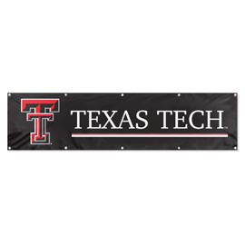 Texas Tech Red Raiders Giant 8' x 2' Banner