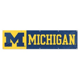 Michigan Wolverines Giant 8' x 2' Banner