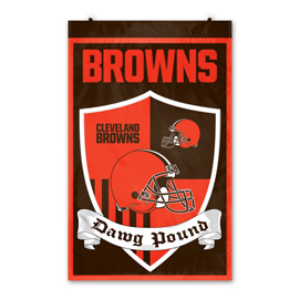 Cleveland Browns Shield Banner