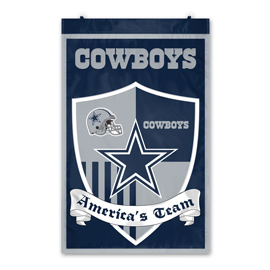 Dallas Cowboys Shield Banner