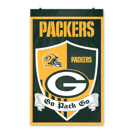 Green Bay Packers Shield Banner