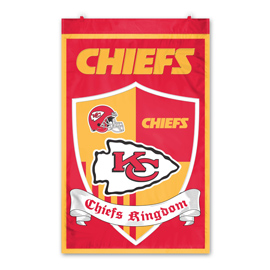 Kansas City Chiefs Shield Banner