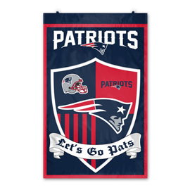 New England Patriots Shield Banner