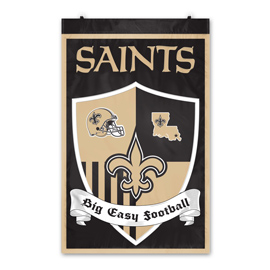 New Orleans Saints Shield Banner