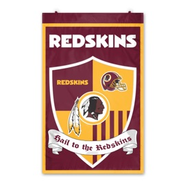 Washington Redskins Shield Banner