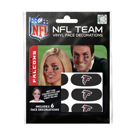 Atlanta Falcons Eye Black Strips