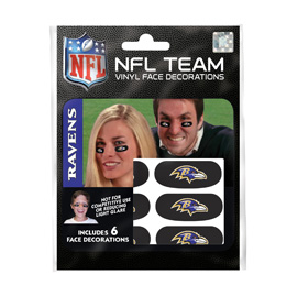 Baltimore Ravens Eye Black Strips