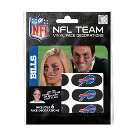Buffalo Bills Eye Black Strips