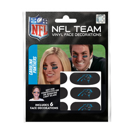 Carolina Panthers Eye Black Strips